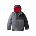 New Columbia Boys Fusion Exact Jacket Graphite