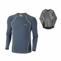 New Columbia Men�s Baselayer Midweight Long Sleeve Top