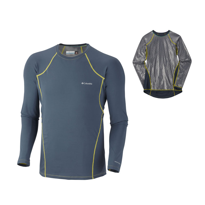 New Columbia Men's Baselayer Midweight Long Sleeve Top