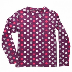 New Girls 686 Dottie Baselayer Top Plum
