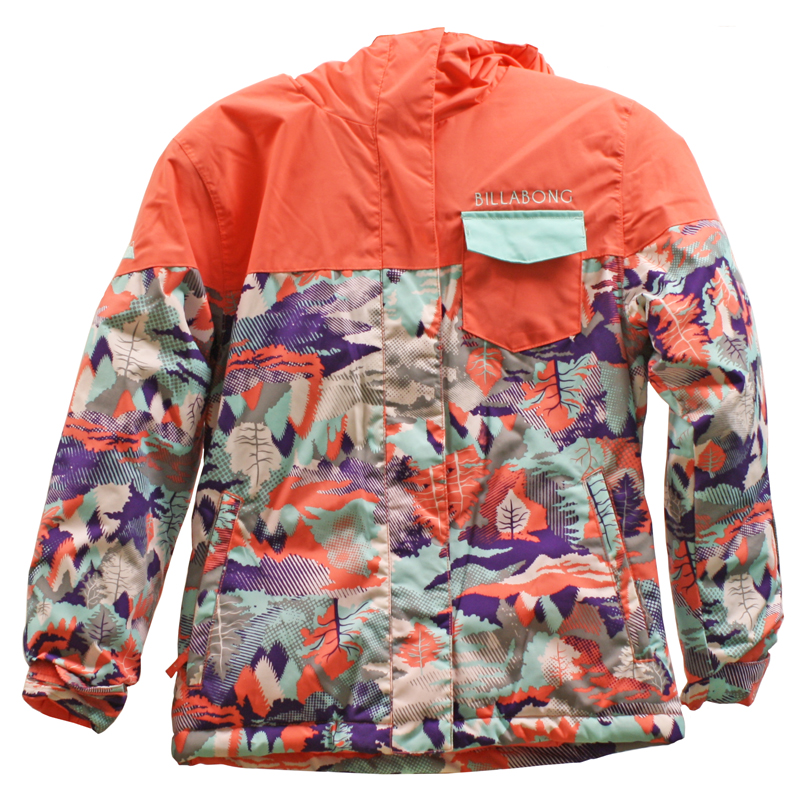 New Girls Billabong Ladybug Jacket Hot Candy