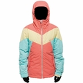 New Girls Billabong Sunlight Jacket Hot Candy