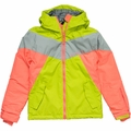 New Girls Billabong Sunlight Jacket Poison Green