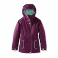 New Girls DC Shoes Data Jacket Gloxinia