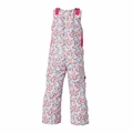 New Girls Roxy Nadia Bib Pants Pink Flowers