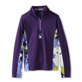New Girls Spyder Bloom Dry Web Tneck Top Regal