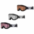 New Gordini Peak AFD Snow Goggles Black Frame