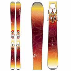 New K2 Luv Machine 74 2016 Women's Skis with Bindings