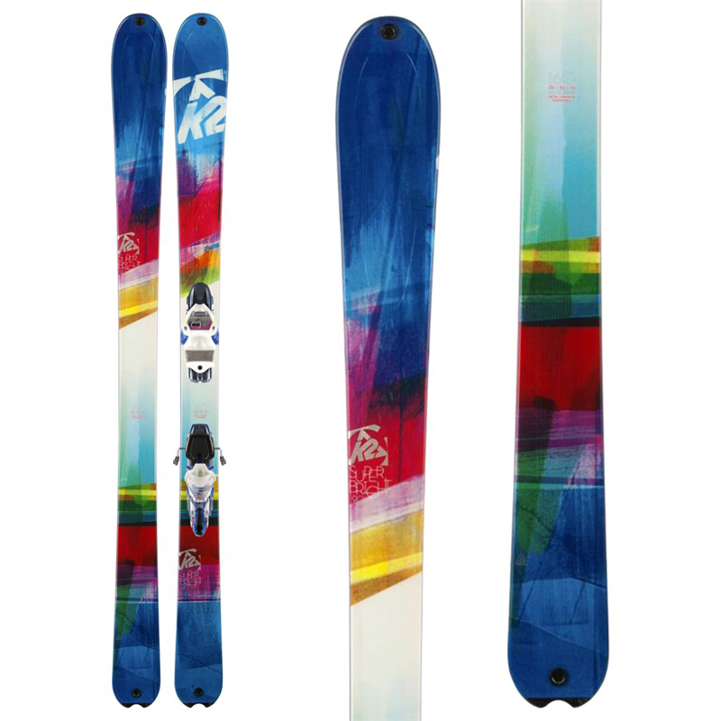 New K2 Superbright 90 Women's Skis With Bindings