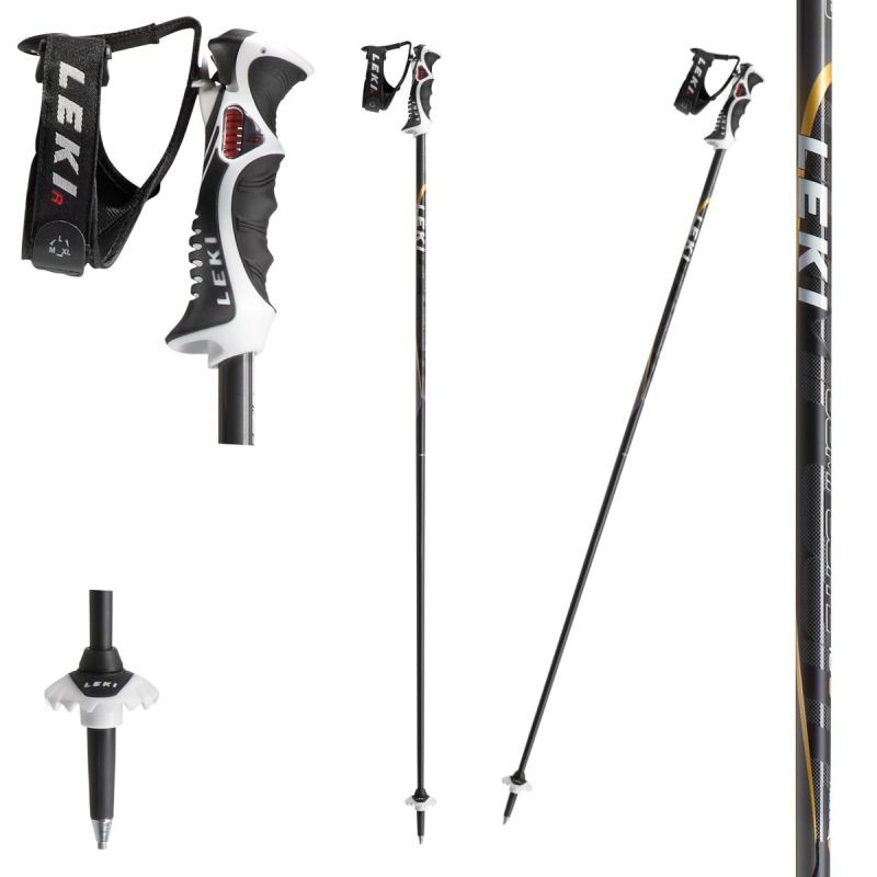 New Leki Composite 16S Men's Ski Poles