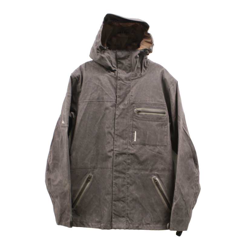 New Quiksilver Dreaming Jacket Gray