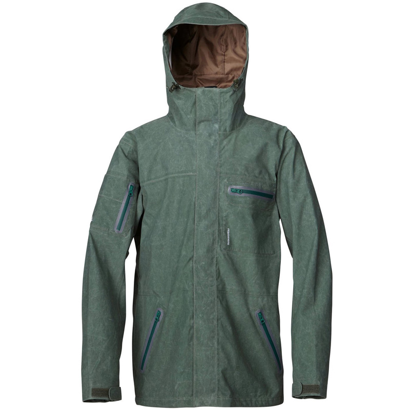 New Quiksilver Dreaming Jacket Green