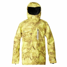 New Quiksilver First Class Travis Rice Gore-Tex Jacket Yellow