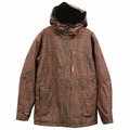New Quiksilver INYO 2L Gore-Tex Jacket Dark Orange