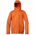 New Quiksilver Raft Jacket Orange