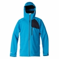 New Quiksilver Spine Windstopper Soft Shell Jacket Blue