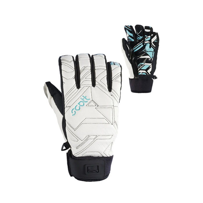 New Scott Geothermal Gloves White