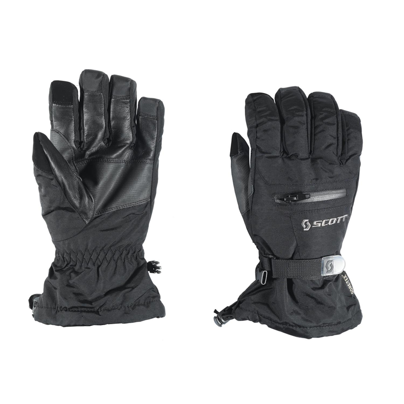 New Scott Groomer Gloves Men Black