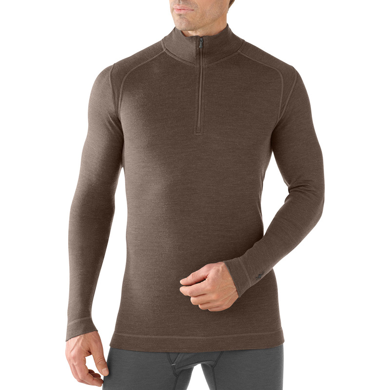 New Smartwool Midweight Zip T Men's Baselayer