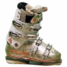 Used Performance Nordica Hot Rod 9.0W Ski Boots White green