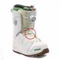 Used 32 Binary Damaged 2014 Women's Snowboard Boots