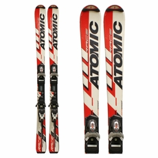 Used Atomic Race 7, Race 8 Junior Skis with Bindings