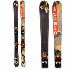 Used Atomic Rascal Junior's Skis with Bindings