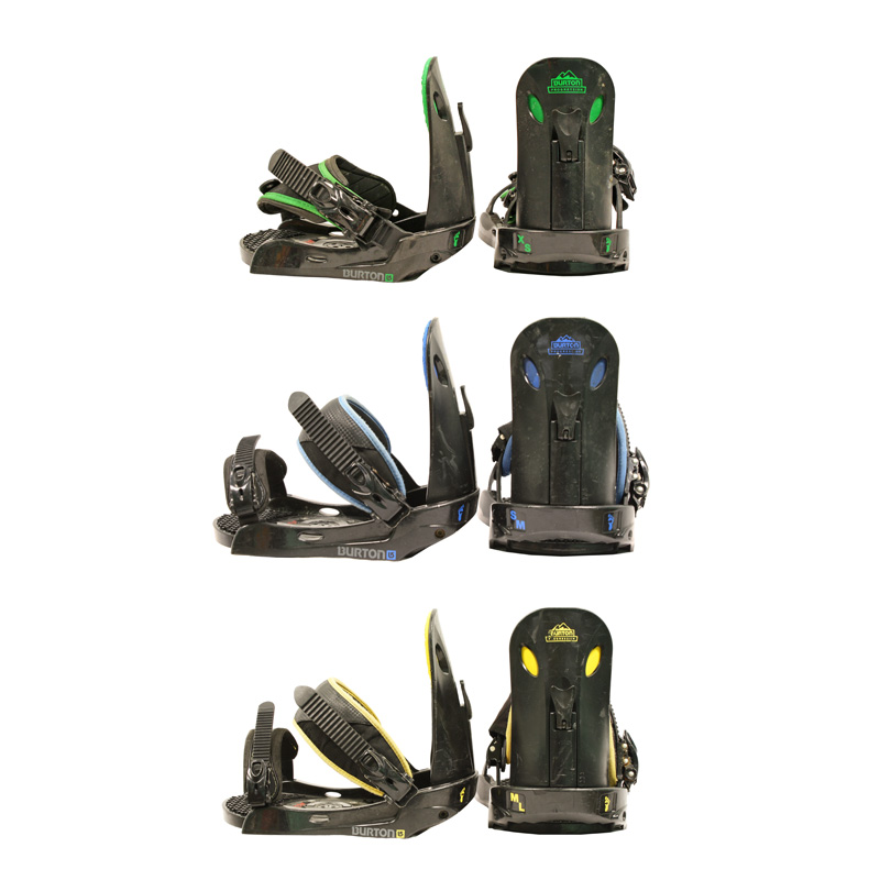 Used Burton Progression Lowstack Snowboard Binding