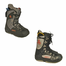 Used Burton Progression Snowboard Boots Black Mens