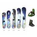 Used Burton Snowboard Burton Boots and Bindings Junior Package Complete