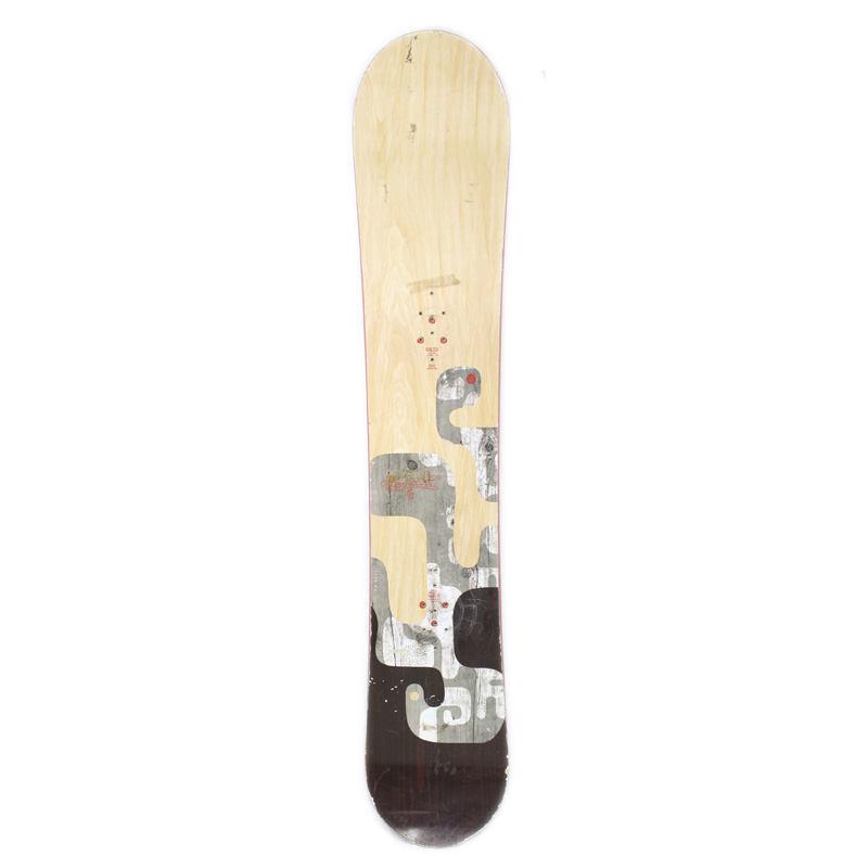 Used Burton Supermodel 2008 Men's Snowboard