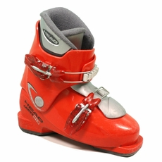 Used Head Carve HT Junior Ski Boots Red