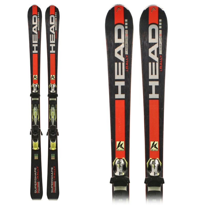 Used Head I. Supershape Rally 2015 Skis with Bindings