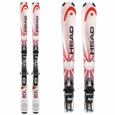 Used Performance 2014 Head Rev 75 Skis with Bindings