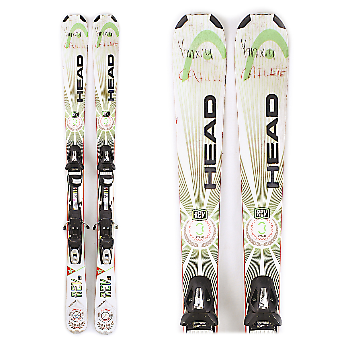 Used Head Rev 80 2014 Men Skis B