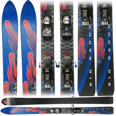 Used K2 Big Kahuna Skis with Bindings