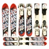 Used K2 Indy JSL11 Junior Skis with Bindings