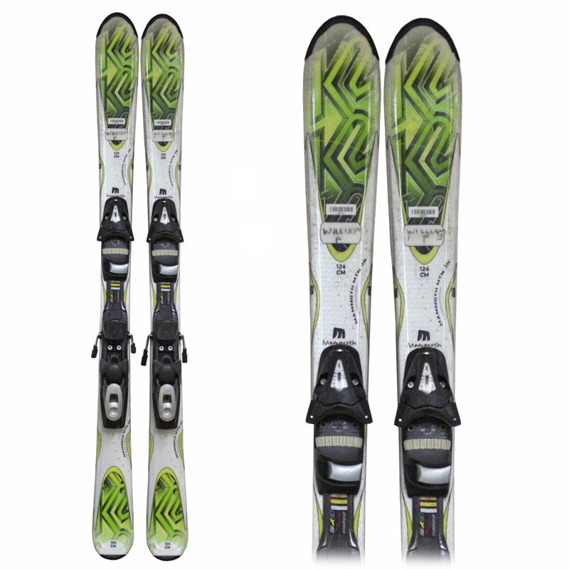 Used K2 Mammoth Mtn/Mountain Junior's Skis
