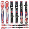 Used K2 Omni Sport Skis with Bindings Bargain Bin