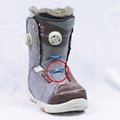 Used K2 W Contour Boa Damaged 2014 Women's Snowboard Boots