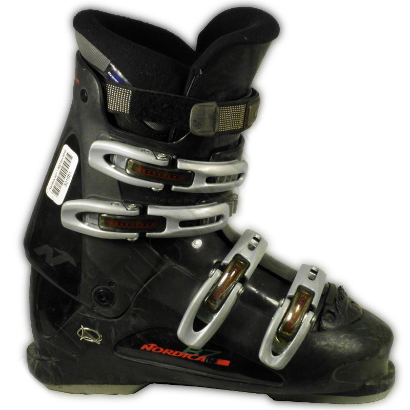 Used Nordica B7 Black Ski Boots