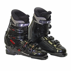 Used Nordica Next 57 Ski Boots Black