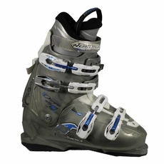 Used Nordica Olympia One S Grey White Ski Boots