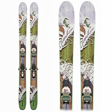 Used Nordica WildFire Women's Skis with Bindings