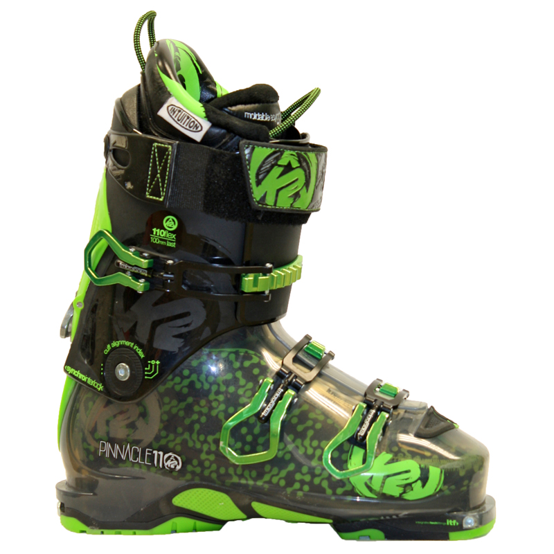 Used Performance 2014 K2 Pinnacle 110 Ski Boots