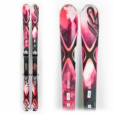 Used Performance 2014 K2 Superburnin Skis with Bindings