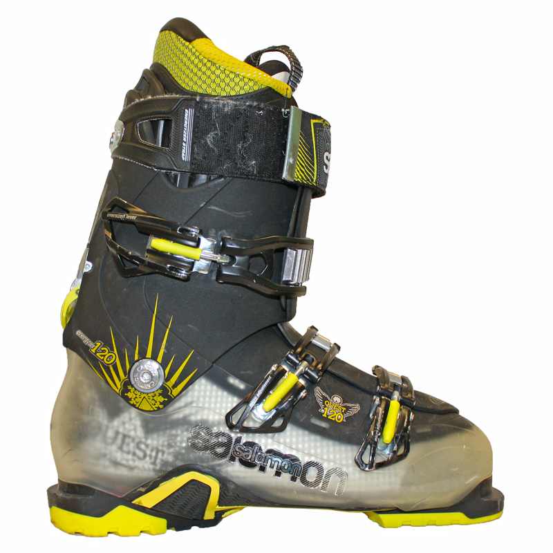 Used Performance 2014 Salomon Quest 120 Ski Boots