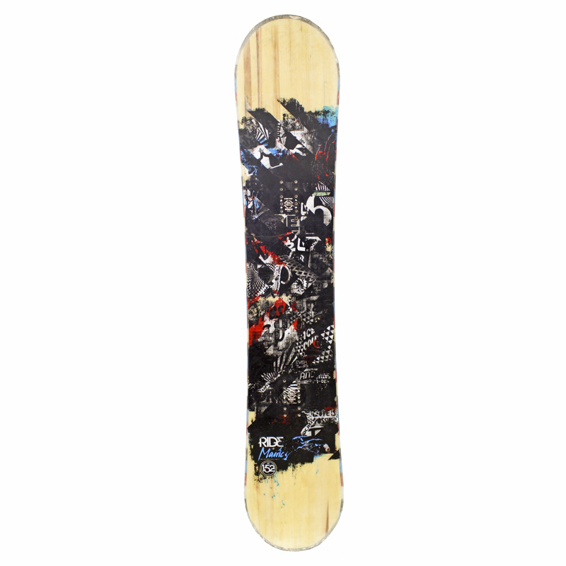 Used Ride Manic Wide 2009 Men's Snowboard