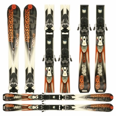 Used Rossignol Actys 200 Skis with Bindings