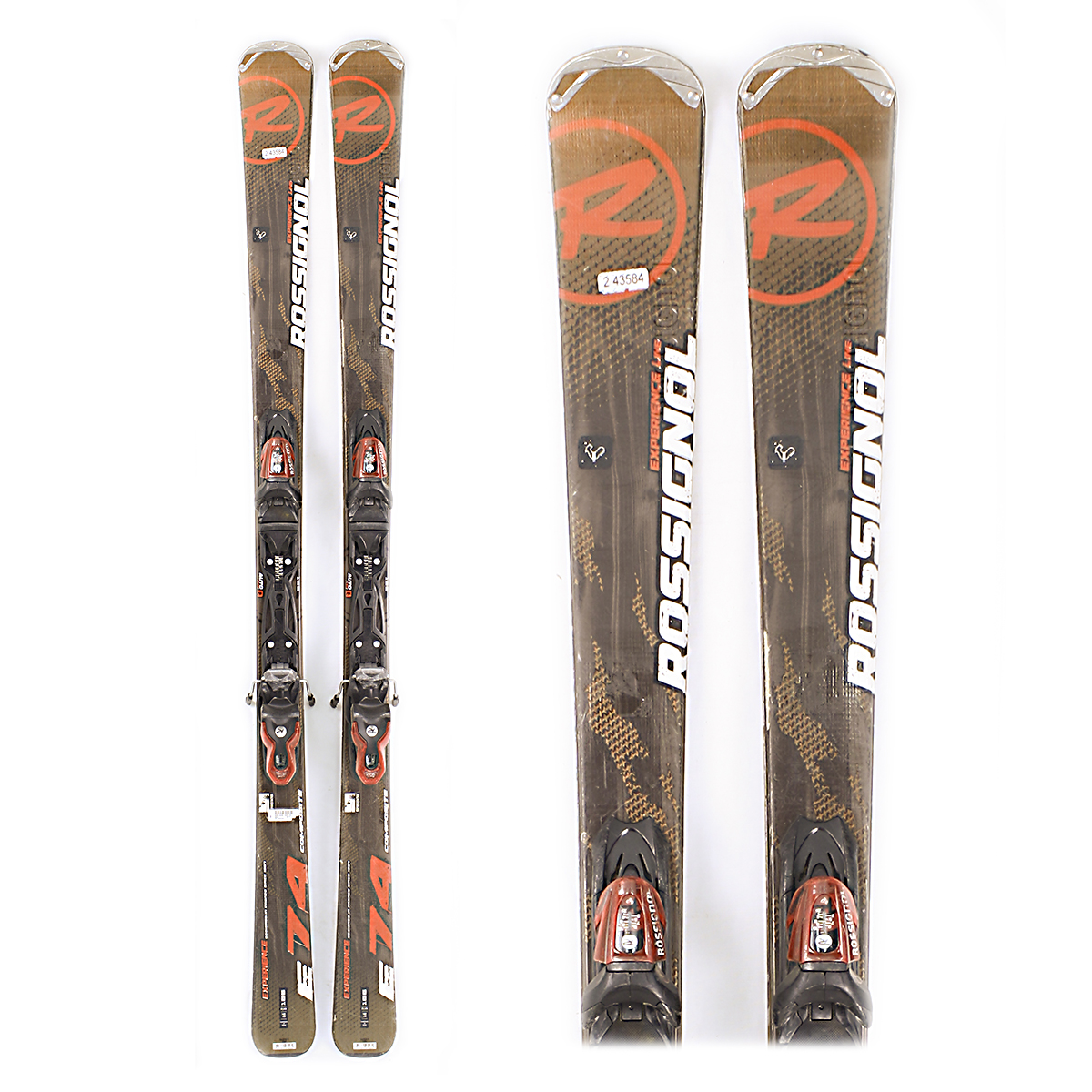 Used Rossignol Experience 74 2013 Men Skis C